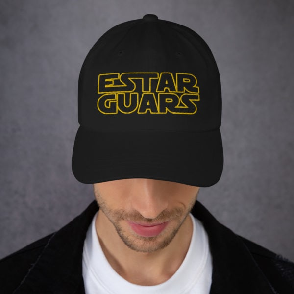 estar guars - American Czar - Estar Guars hat (Star Wars Parody) Dad hats aren't just for dads. This one's got a low profile with an adjustable strap and curved visor.
