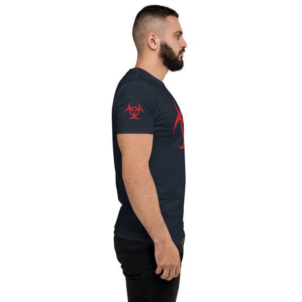 Biohazard Symbol Short Sleeve T-shirt