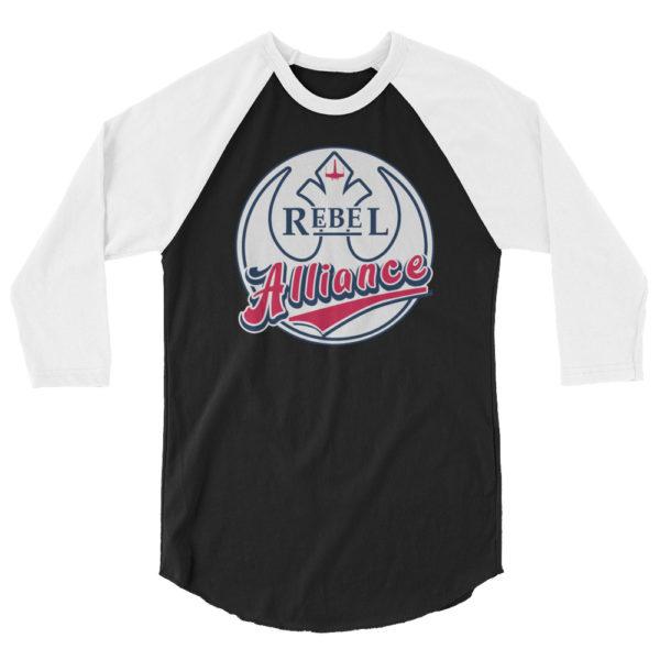 Minnesota Twins Inspired Rebel Alliance raglan shirt
