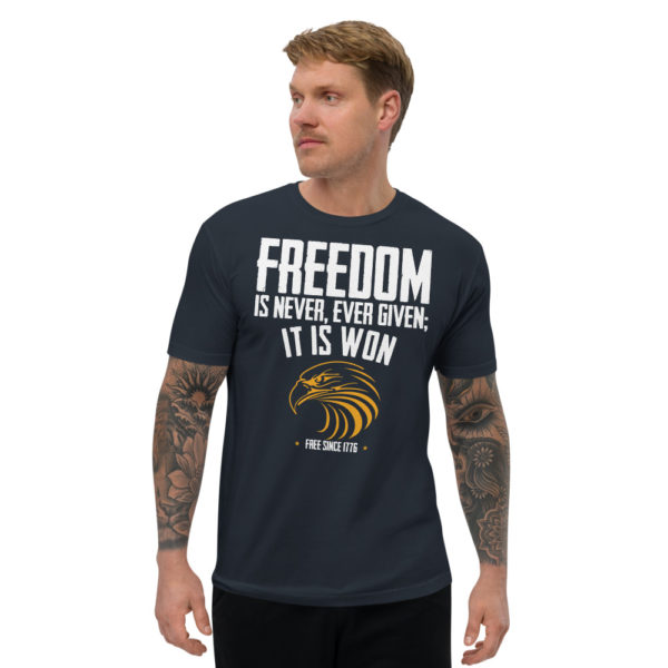Freedom is Never Given